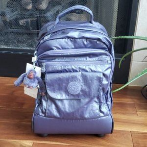 New Kipling Sanaa Wheeled backpack carry-on